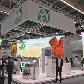 Vortice stand at ISH 2017