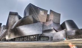 Walt Disney Concert Hall, Los Angeles, California, by Frank Gehry
