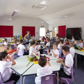 Weldon Primary School modular classroom