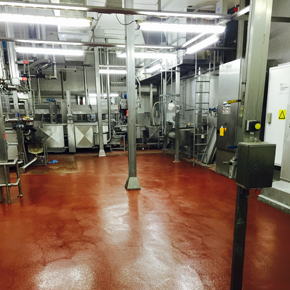 Sikafloor system at Young Seafood Ltd