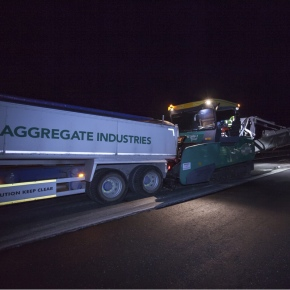 aggregate industries shuttle buggy M6 featured image