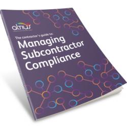 altius - managing subcontractor compliance