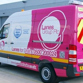 Lanes Group van