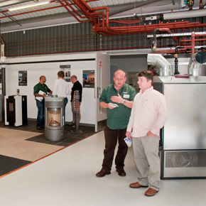 The Euroheat Conference Centre will showcase its stove range