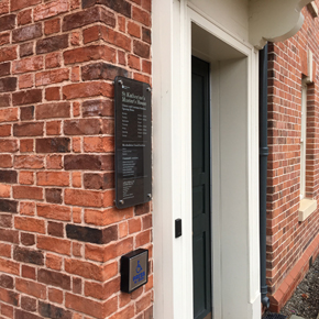Country Blend brick at the Master's House, Ledbury