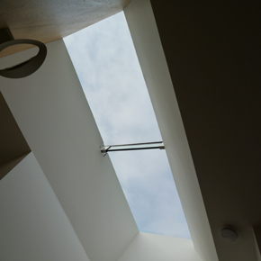 Flushglaze roof light at Knitters Cottage
