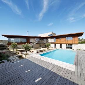 Hudson Architects, Le Petit Fort, Jersey, UK, shortlisted for Manser medal / House  of the year awards, Summer 2016 Photographer Joakim Borén,