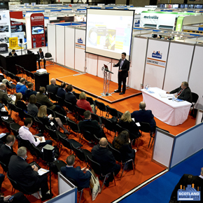 Conference at the Scotland Build Expo