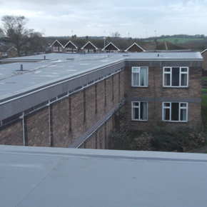 Protan Swindon roof refurb