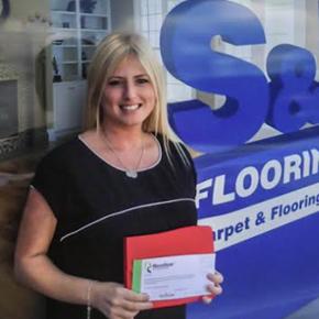 Sam Carmichael-Pitts of S&D Flooring Ltd