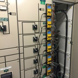 Six of the eight Energy Loggers left in place to monitor power consumption