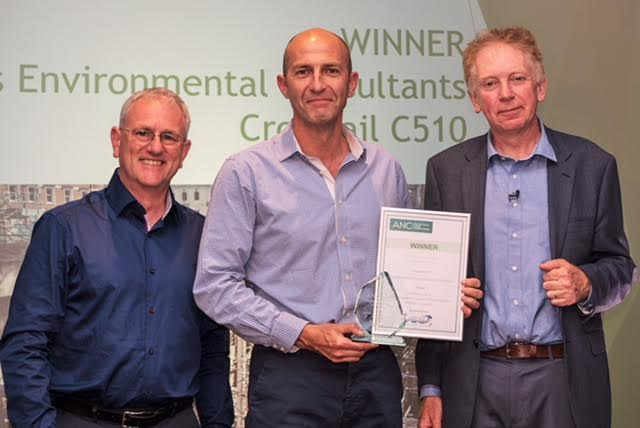 Mike Breslin of ANV, Rick Methold of Southdowns Environmental Consultants and Dr Hugh Hunt.