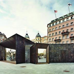 Ferry Terminal Buildings - Image courtesy of Johan Fowelin