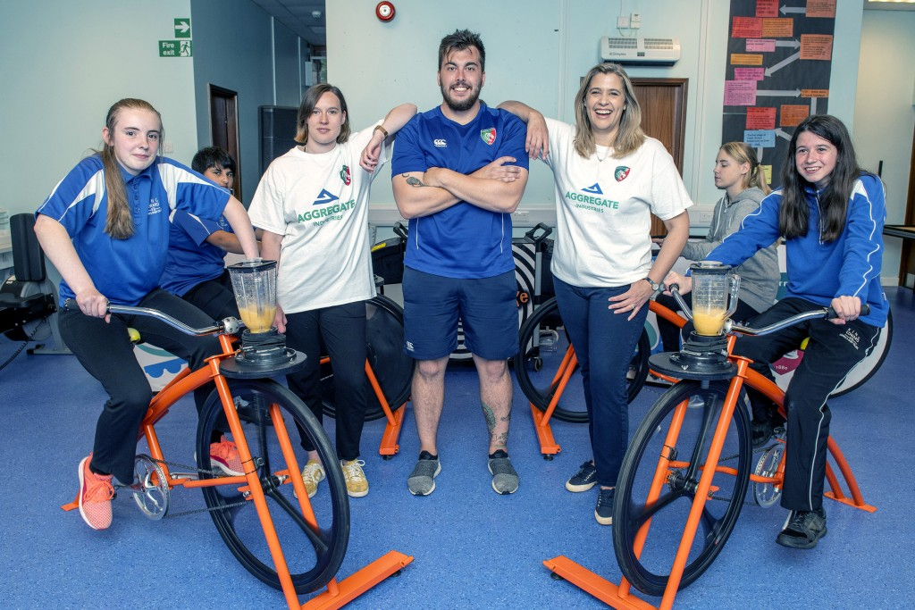 Smoothie Bike At King Edward Science & Sport College