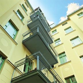 Balcony retrofit