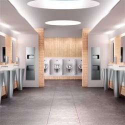 Commercial washroom