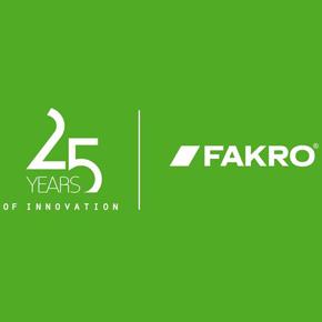 FAKRO 25th anniversary branding