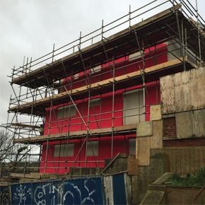 Wraptite-SA conquers airtightness at 1066 Zero carbon homes