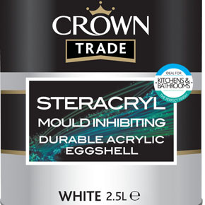 Crown Trade Steracryl mould inhibiting coating