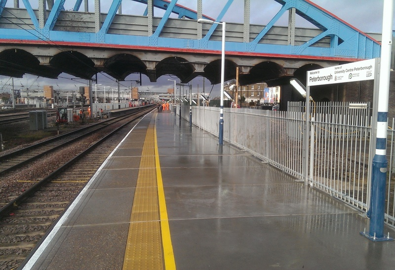 Airpop reduces station platform construction time for