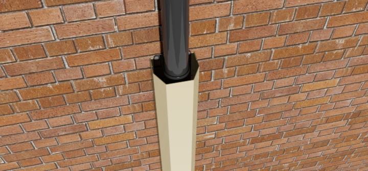 Rainwater Downpipes And Soil Pipes Covers Protect From