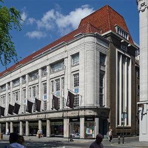 Heal's building, Tottenham Court Road, London