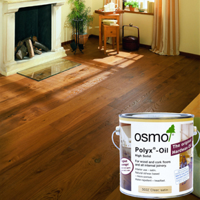 OSMO Polyx-Oil wood finish and wooden flooring