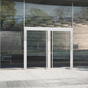 Schueco ADS HD aluminium doors