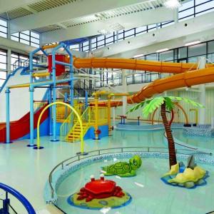 Building: Huddersfield Leisure Centre Architect: AHR Location: Huddersfield