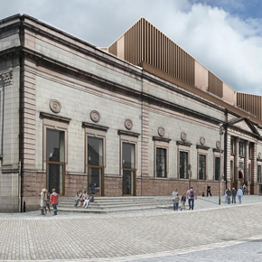 CMS provides curtain walling for Aberdeen Art Gallery