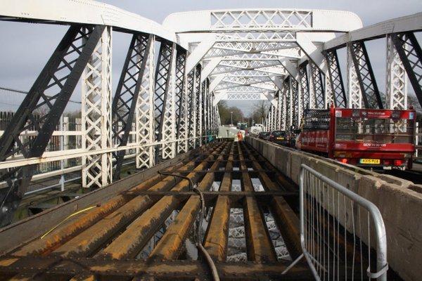 Acton Bridge works bridge top lanes (2)