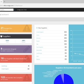 Altius Exigo software screenshot