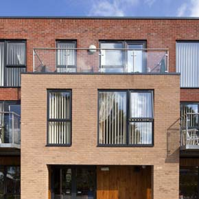 Balcony and terrace system by Kingspan at Amblecot development