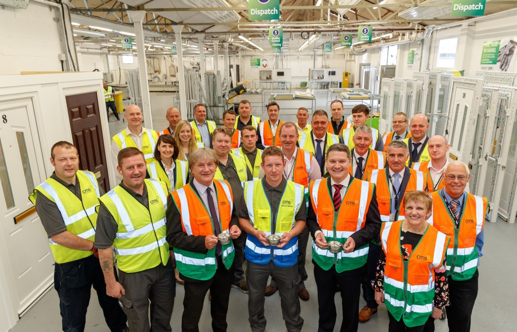 The official opening ceremony of the CMS Window Systems Hayfield Factory in the Hayfield Industrial Estate in Kirkcaldy, Fife on 12th June 2018.
