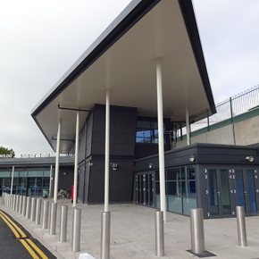 Cardiff station exterior