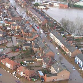 Carlisle flooded