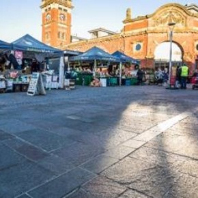 Charcon - Ashton Market Square natural stone paving