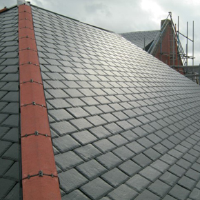 Close-up of IKOSlate tiles used on Gorse Hill School1