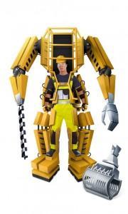 Building exoskeleton