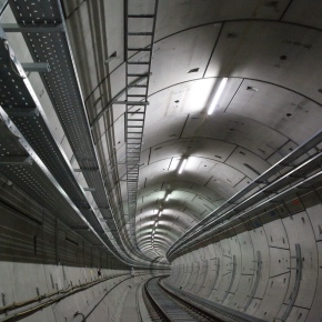 Crossrail project_Elizabeth Line Tunnel