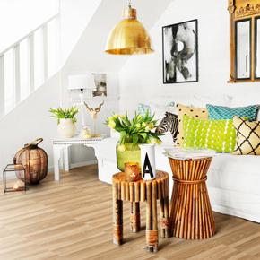 Designatex Columned Ash luxury vinyl floor covering