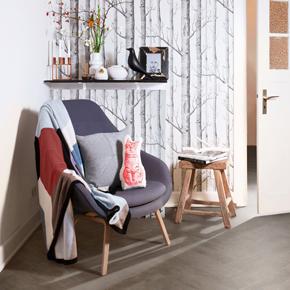 Designatex Smokehouse Herringbone luxury vinyl floor covering