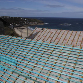DuPont Tyvek Supro is the favoured choice of Marnick Roofing Ltd and has been chosen for a development project in Cornwall's beautiful, windswept Sennen Cove.