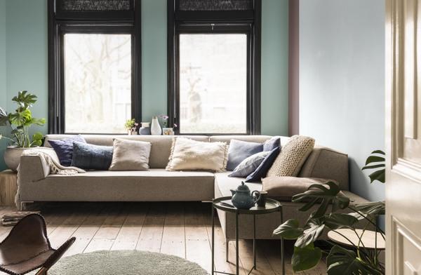 Dulux ColourFutures™ 2018_Inviting Home_Drifting Cloud, Heart Wood, Fresh Foliage, Cobalt Night