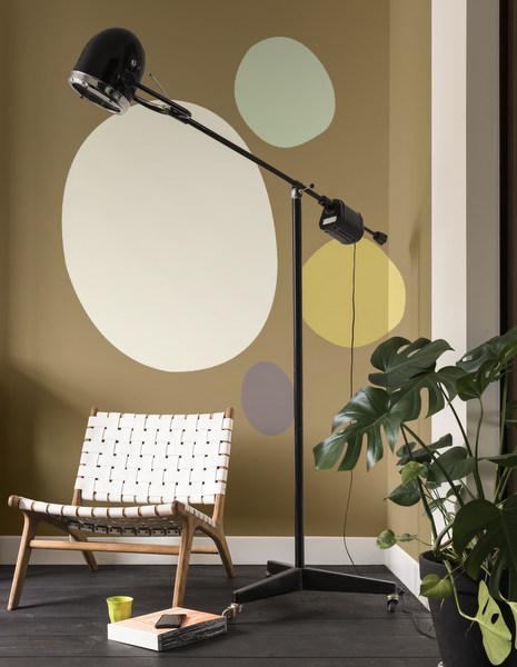 Dulux ColourFutures™ 2018_Playful Home_Cherised Gold, Salisbury Stones 5, Fresh Artichoke, heart Wood, Golden Sands