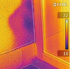 FLIR871 - MSX technology thermal image 2