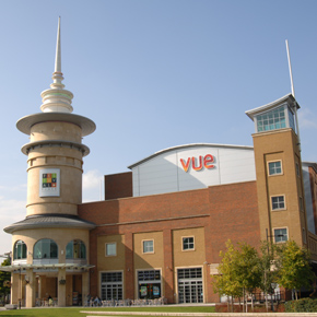 Vue cinema at Festival Place in Basingstoke
