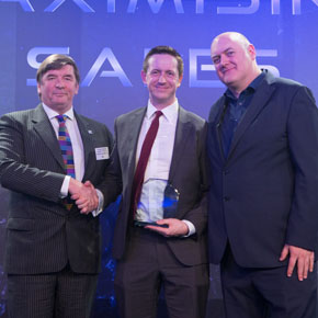 Knauf Insulation presented with Supplier of the Year award by Dara O'Briain