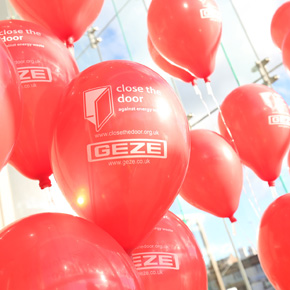 GEZE UK Close The Door Campaign