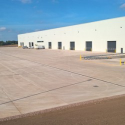 Gatic's Filcoten - the world's first lightweight concrete channel drain, used at Carlisle Airport
